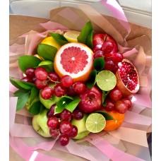 """Букет из фруктов """"Весенний"""" с лаймом"""