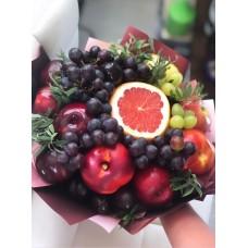 """Фруктовый букет """"Виноградик"""" с нектаринами"""